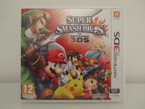 Super Smash Bros 3DS Front