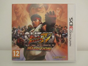 Super Street Fighter IV Front
