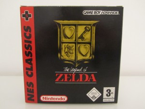 The Legend Of Zelda GBA Front
