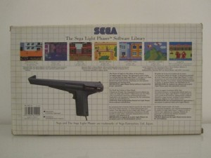 The Sega Light Phaser Back