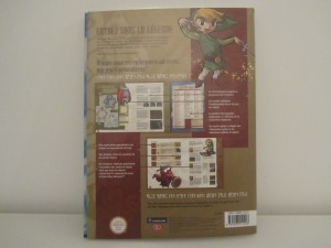 The Wind Waker Guide Officiel Back
