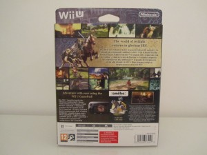 Twilight Princess HD Collector Back