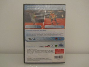 Virtua Tennis 3 Back