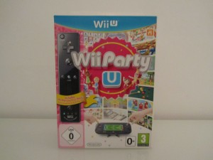 Wii Party U + Wiimote Front