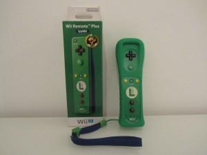 Wii Remote Plus Luigi Front