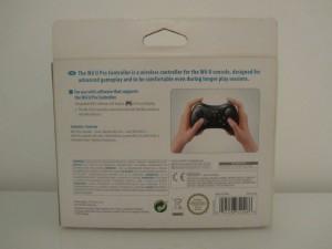 Wii U Pro Controller Back