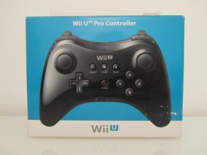 Wii U Pro Controller Front