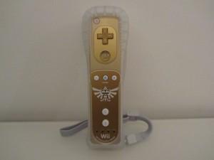 Wiimote Zelda Front
