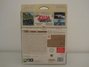 Wind Waker HD Collector Back