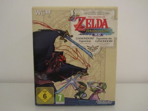 Wind Waker HD Collector Front