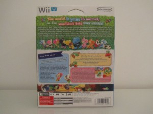 Yoshi's Woolly World Collector Back