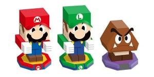 Papercrat - Mario & Luigi, Paper Jam Bros