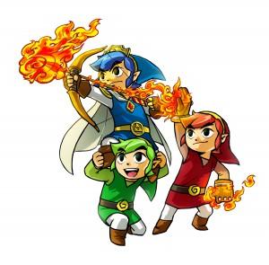 DLC Zelda Tri Force Heroes