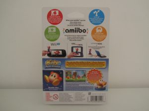 Amiibo Kirby Waddle Dee Back