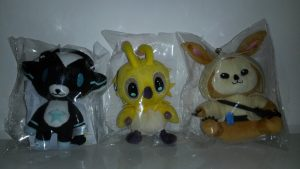 Peluches PSO2