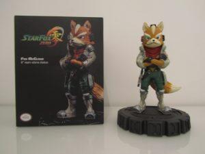 Statuette Fox McCloud Front